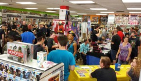 2014 Free Comic Book Day and ACME Expo at Samurai Comics in Mesa.