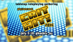 Crit Hit! 2016-Tabletop RPG Gathering